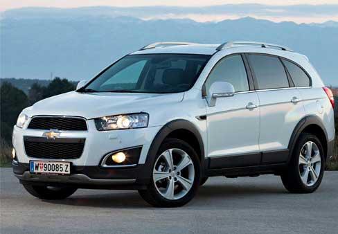Ремонт Chevrolet Captiva