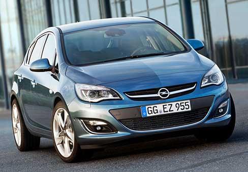 Ремонт Opel Astra