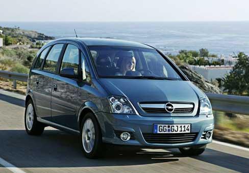 Ремонт Opel Meriva
