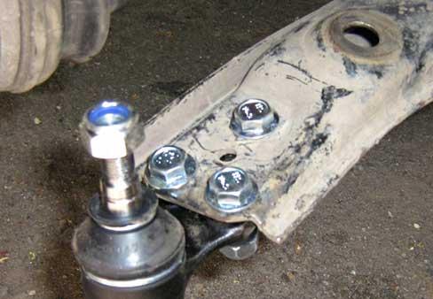 Замена шаровой опоры на Opel Antara
