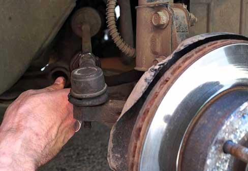 Замена рулевой тяги на Chevrolet Lanos