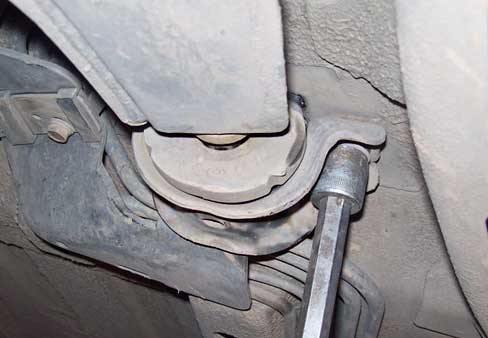 Замена сайлентблоков рычагов на Opel Antara