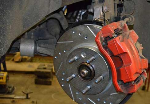 Замена тормозного диска на Opel Antara